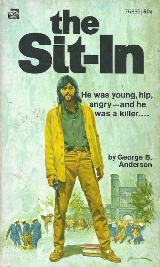 The Sit-In, 1970 - illus by George Gross